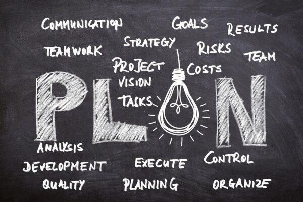 business idea, planning, board
